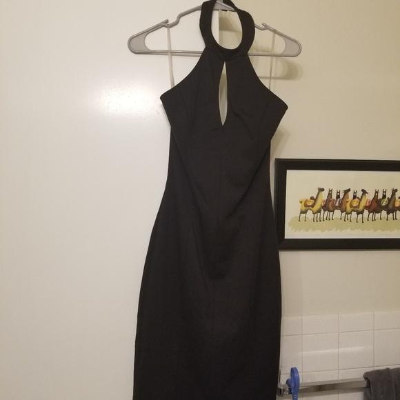 Solemio Dresses & Skirts - Like new halter neck little black dress